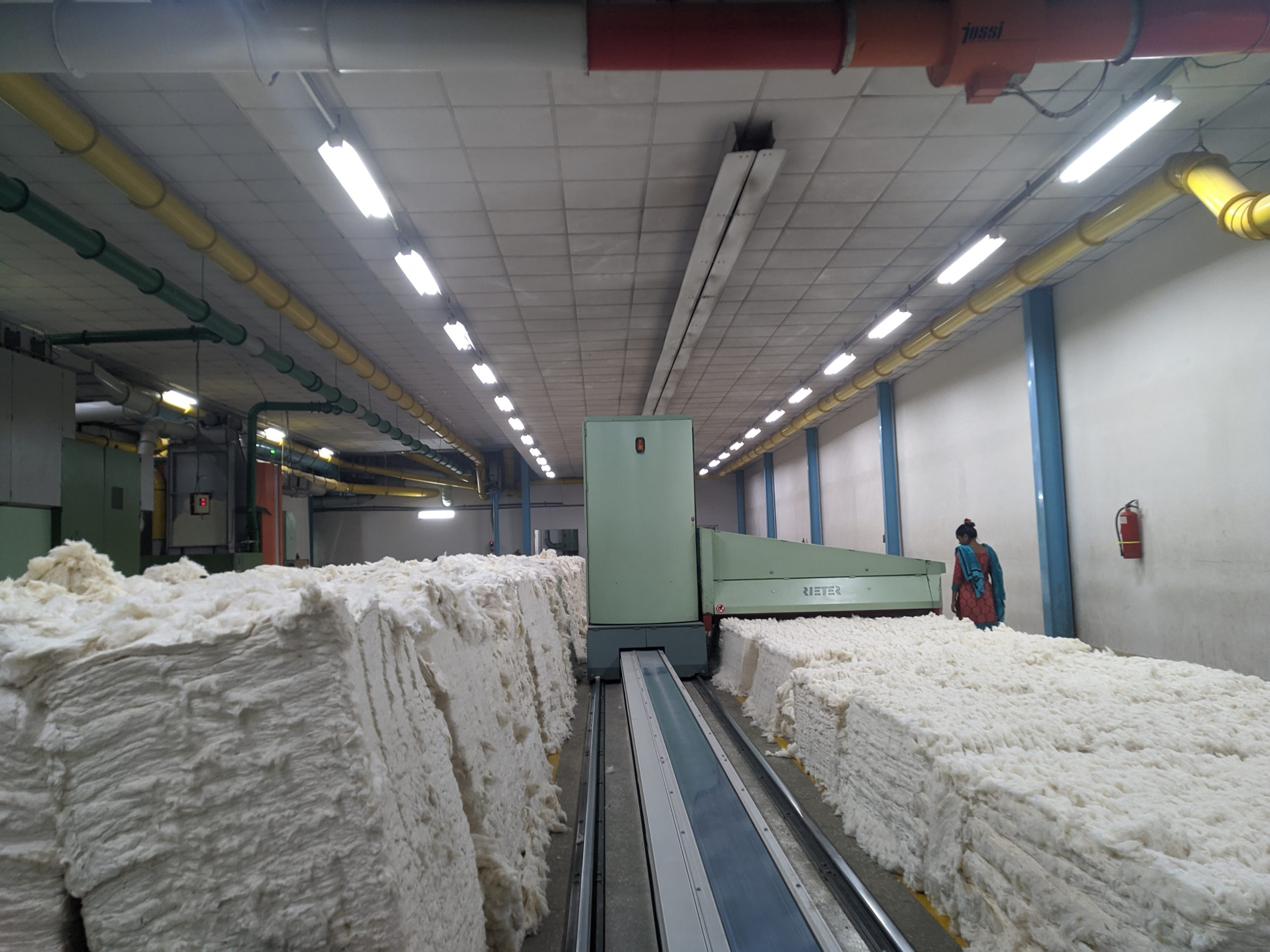 Spinning Factory - Bale Management, Unifloc - Bengal NFK